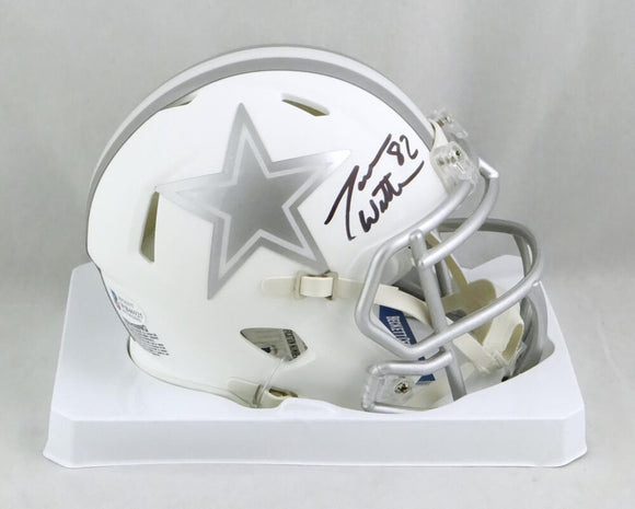 Jason Witten Autographed Dallas Cowboys ICE Mini Helmet- Beckett Auth *Black