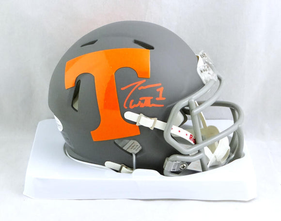 Jason Witten Signed Tennessee Volunteers AMP Mini Helmet - Beckett W Auth