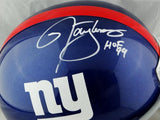 Lawrence Taylor Autographed New York Giants F/S Helmet w/ HOF- Beckett W Auth *White