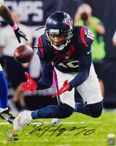 DeAndre Hopkins Autographed Houston Texans 16x20 Close Up PF Photo- JSA W Auth *Black