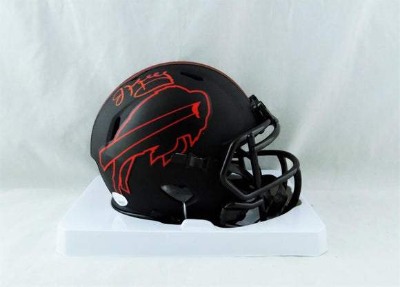 Jim Kelly Autographed Buffalo Bills Eclipse Mini Helmet - JSA W Auth *Red