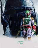 Jeremy Bulloch Signed Boba Fett 16x20 White Double Image Photo - JSA Auth *Green