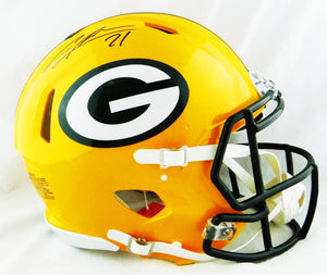 Charles Woodson Autographed Green Bay Packers F/S Speed Authentic Helmet - JSA W Auth *Black