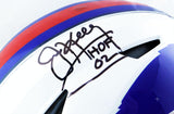 Kelly/Reed/Thomas Autographed Buffalo Bills F/S SpeedFlex Helmet W/ HOF- JSA W Auth *Black