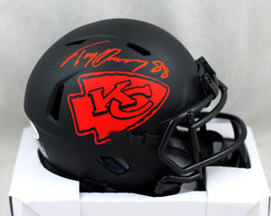 Tony Gonzalez Autographed Kansas City Chiefs Eclipse Speed Mini Helmet - Beckett W Auth *Red