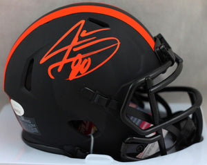Jarvis Landry Autographed Cleveland Browns Eclipse Speed Mini Helmet - JSA W Auth *Orange