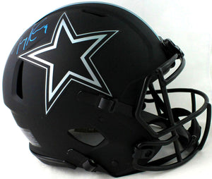 Tony Romo Autographed Dallas Cowboys F/S Eclipse Speed Authentic Helmet- Beckett W Auth *Blue
