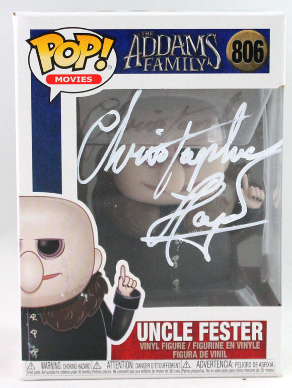 Christopher Lloyd Autographed Funko Pop! #806 Uncle Fester Addams Family - JSA *White