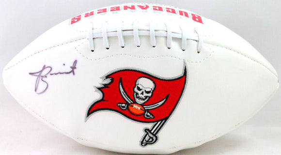 Jameis Winston Autographed Tampa Bay Buccaneers Logo Football- JSA Witnessed