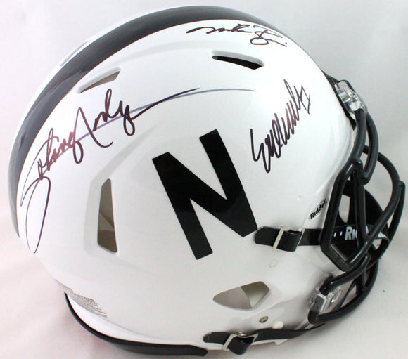 Nebraska Heisman Autographed F/S 2019 Speed Authentic Helmet- JSA W *Black