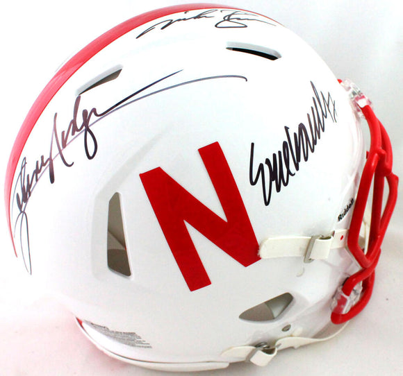 Nebraska Heisman Autographed FS 2019 Speed Authentic Helmet- JSA W *Black