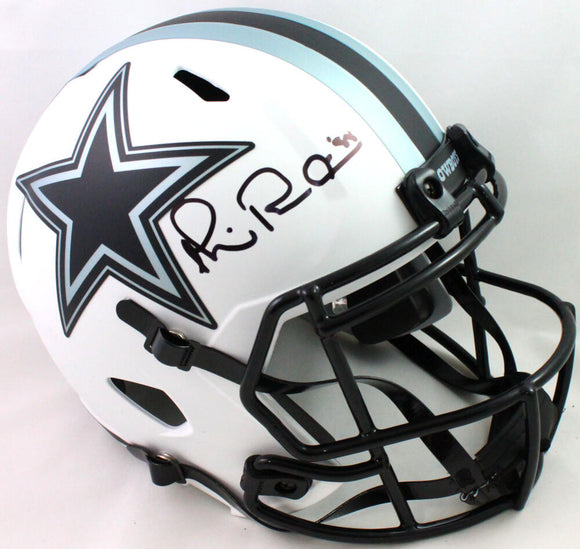 Michael Irvin Autographed Dallas Cowboys Lunar Speed F/S Helmet- Beckett W *Blk