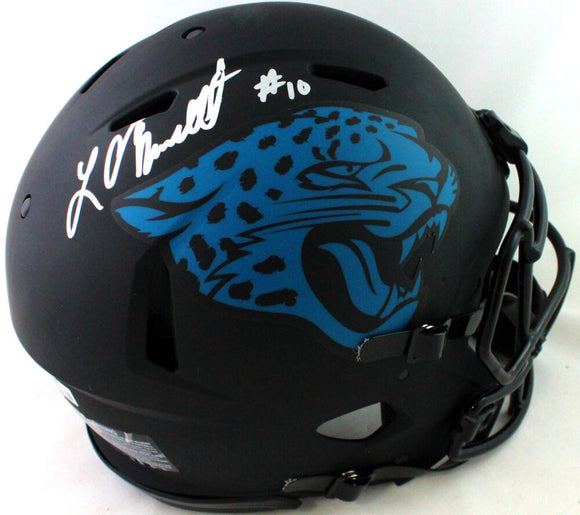 Laviska Shenault Signed Jaguars Authentic Eclipse Speed FS Helmet- Beckett W*Sil