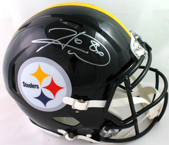 Hines Ward Autographed Steelers F/S Speed Authentic Helmet - Beckett W *silver