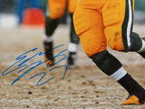 Eddie Lacy Autographed 16x20 Packers Vertical Running Photo- JSA W Authenticated
