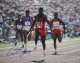 Carl Lewis Autographed 16x20 Front View Running Photo- TriStar Authenticated