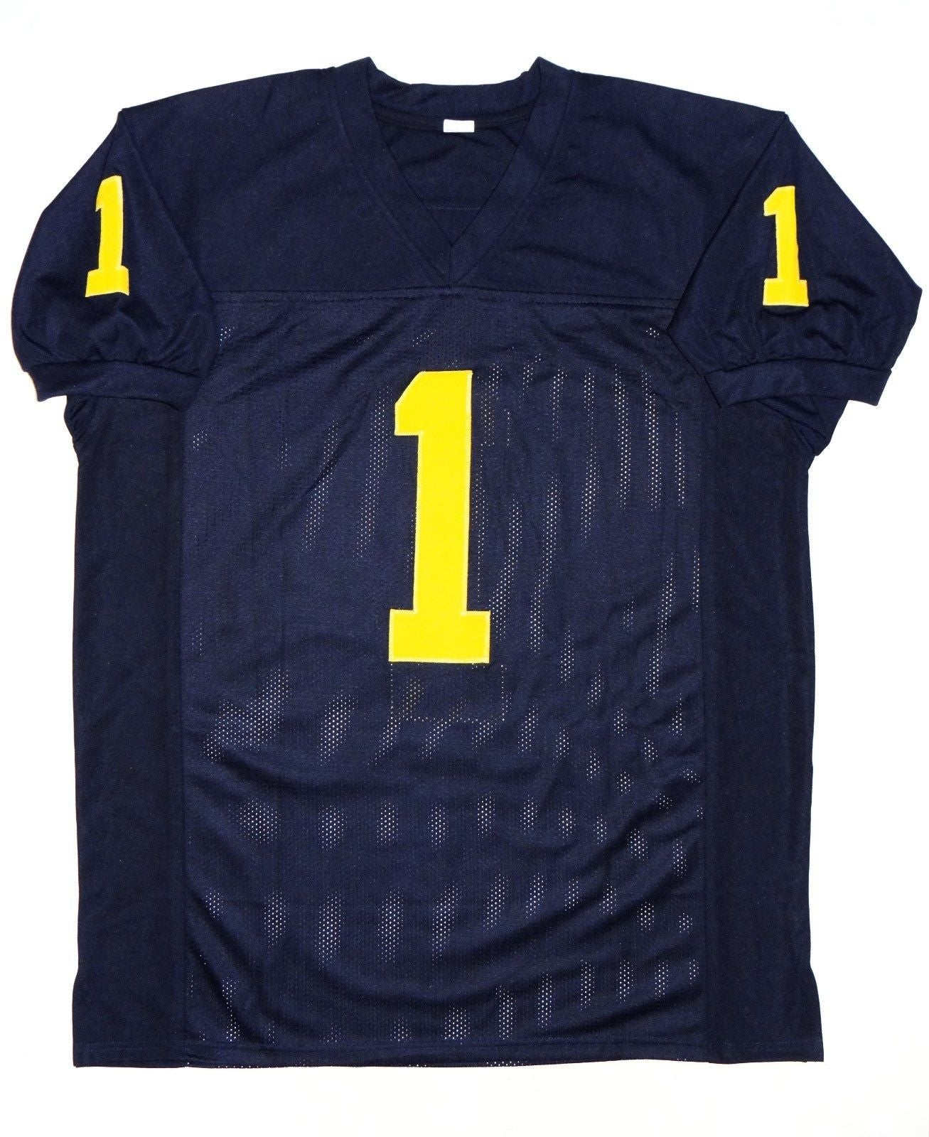 best sneakers 67735 bb391 Devin Funchess Autographed Navy Blue College Style Jersey ...