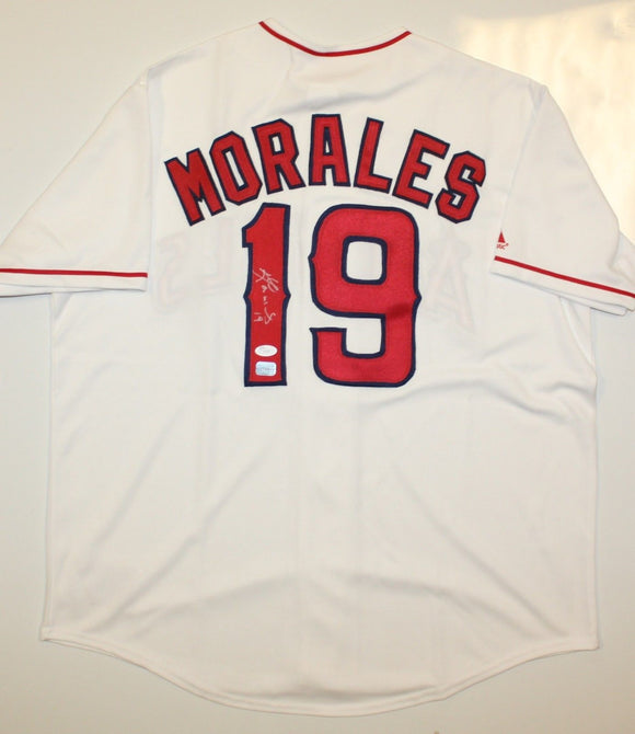Kendry Morales Autographed Los Angeles Angels Jersey- JSA Authenticated