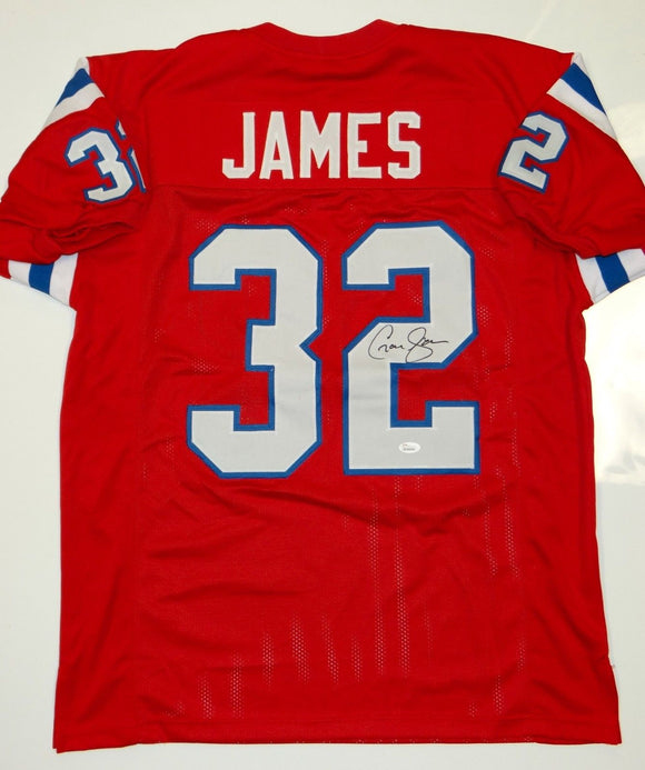 Craig James Signed / Autographed Red Pro Style Jersey- JSA W Authenticated