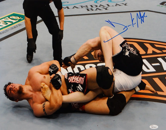 Frank Mir Autographed 16x20 On The Mat Photo- JSA W Authenticated
