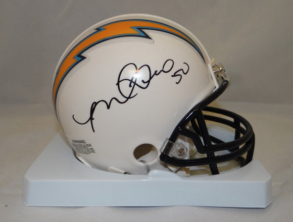 Manti Te'o Autographed San Diego Chargers Mini Helmet- JSA Authenticated