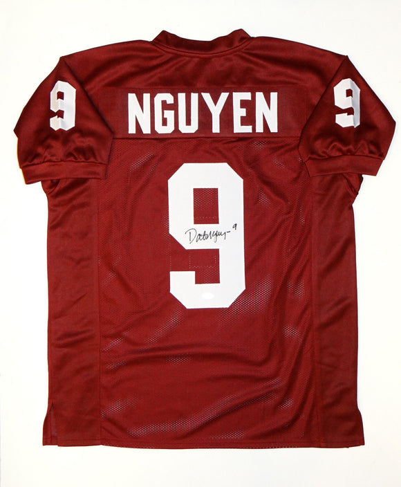 Dat Nguyen Signed / Autographed Maroon College Style Jersey- JSA W Authenticated