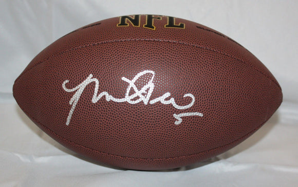 Manti Te'o Autographed Wilson NFL Football- JSA Authenticated