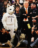 Jim Calhoun Autographed 16x20 Arms Crossed Photo- JSA Authenticated