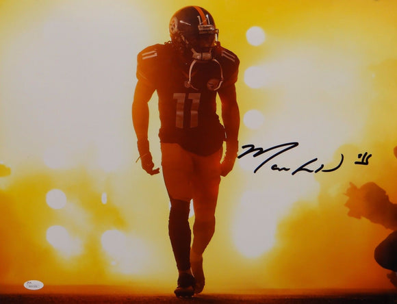 Markus Wheaton Autographed Pittsburgh Steelers 16x20 In Lights Photo- JSA W Auth