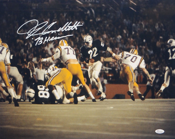 John Cappelletti Autographed Penn State 16x20 Running Photo- JSA W Authenticated