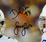 Sean Lee & DeMarcus Ware Autographed 20x24 On Field Canvas- JSA W Authenticated