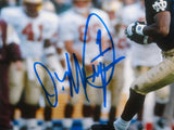 Derrick Mayes Autographed 8x10 Horizontal Running Photo- JSA W Authenticated