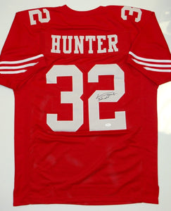 Kendall Hunter Signed / Autographed Red Jersey- JSA W Authenticated