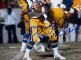 Vince Ferragamo Signed Los Angeles Rams 8x10 Looking to Pass Photo- JSA W Auth