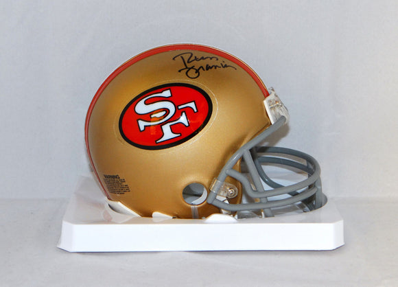 Russ Francis Autographed San Francisco 49ers Mini Helmet- JSA W Authenticated