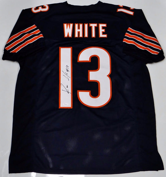 Kevin White Autographed Blue Pro Style Jersey- JSA W Authenticated #13