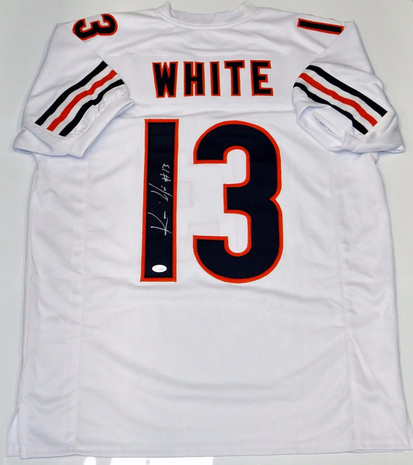 Kevin White Signed / Autographed White Pro Style Jersey- JSA Auth