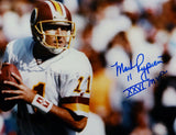 Mark Rypien SB MVP Signed 16x20 About To Pass Photo- JSA W Authenticated