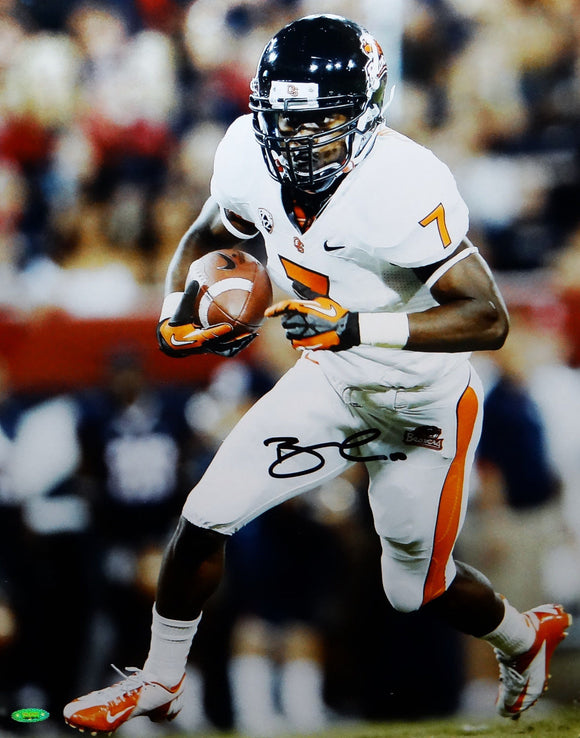 Brandin Cooks Signed Oregon State 16x20 Vertical Running Photo- TriStar Auth