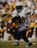 LaDainian Tomlinson Autographed 16x20 Chargers Running Photo- JSA Authenticated