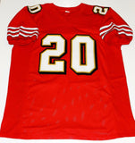 Garrison Hearst Autographed Red Pro-Style Jersey- JSA Authenticated