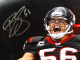 Brian Cushing Autographed 8x10 Yelling Photo- JSA W Authenticated