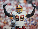 Brian Orakpo Autographed 8x10 Arms Open Photo- JSA W Authenticated