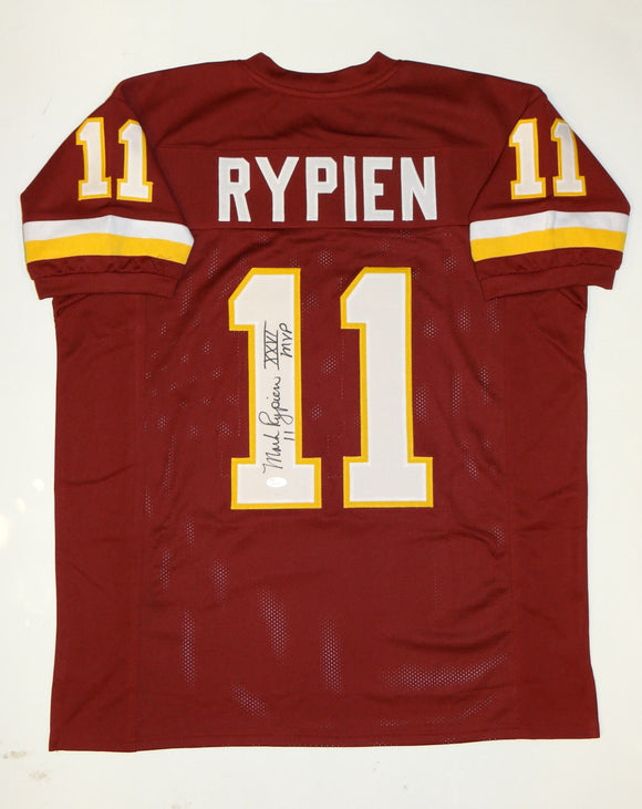 Mark Rypien MVP Signed/ Autographed Maroon Pro Style Jersey- JSA W Authenticated