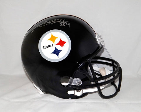 Antonio Brown Autographed Pittsburgh Steelers Full Size Helmet- JSA W Auth *Silver