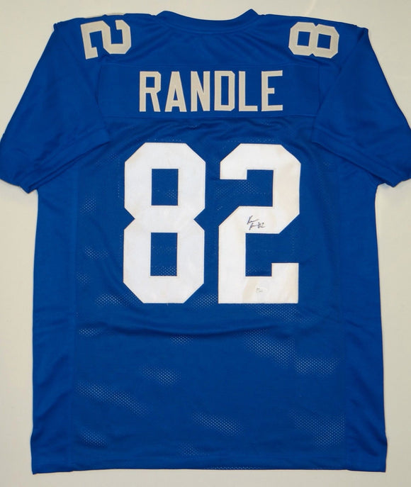 Ruben Randle Signed / Autographed Blue Pro Style Jersey- JSA Authenticated