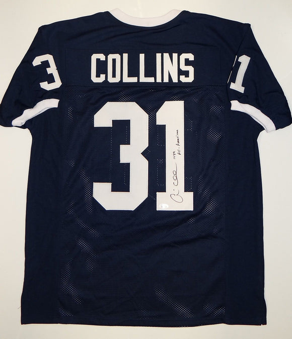Andre Collins Signed / Autographed Navy Blue Jersey- JSA W Authenticated
