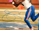Sammy Watkins Autographed 16x20 Catching With Pink Gloves Photo- JSA W Auth