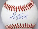 George Springer Autographed Rawlings OML Baseball- JSA W Authenticated