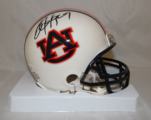 Bo Jackson Autographed *Black Auburn Tigers Mini Helmet- JSA W Authenticated